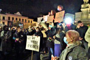 Strajk Kobiet Cieszyn, 26.10.2020