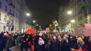 Strajk Kobiet Warszawa, 09.11.2020