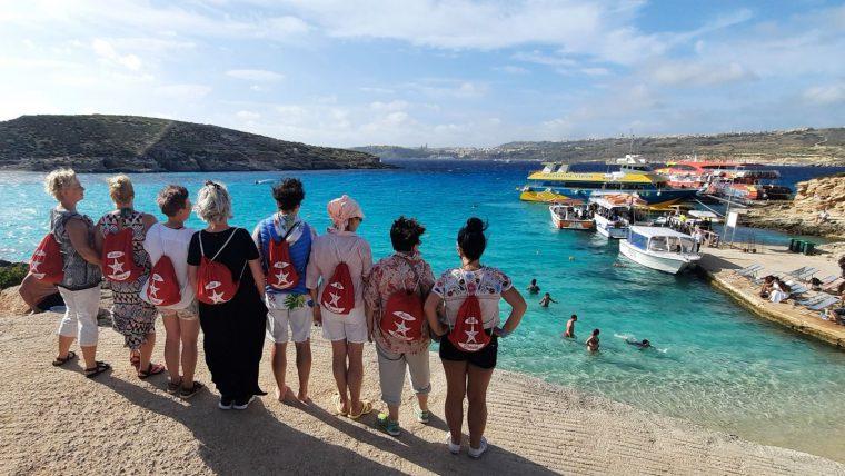 Wycieczka morska na wyspę Comino