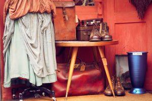 ubrania w secen-hand typu vintage