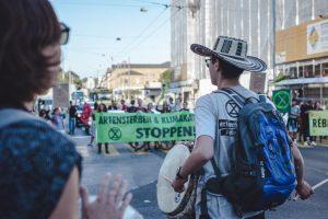 Protesty w spr.klimatu
