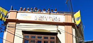 Na dachu naszej szkoły Maltalingua