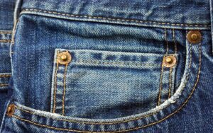 kieszeń jeansowa