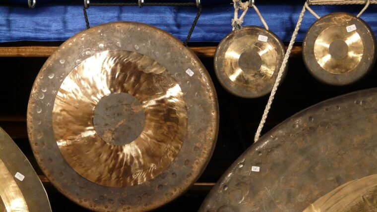 Gongi tybetańskie - energia