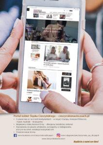 Bądźcie z nami online - zaprasza portal cieszynskienaobcasach.pl
