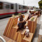 Parklet miejski-miejsce odpoczynku