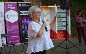 Roma Rojowska prezeska Stowarzyszenia Klub Kobiet Kreatywnych w Cieszynie